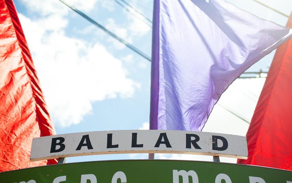 Ballard Farmer's Market Sign
