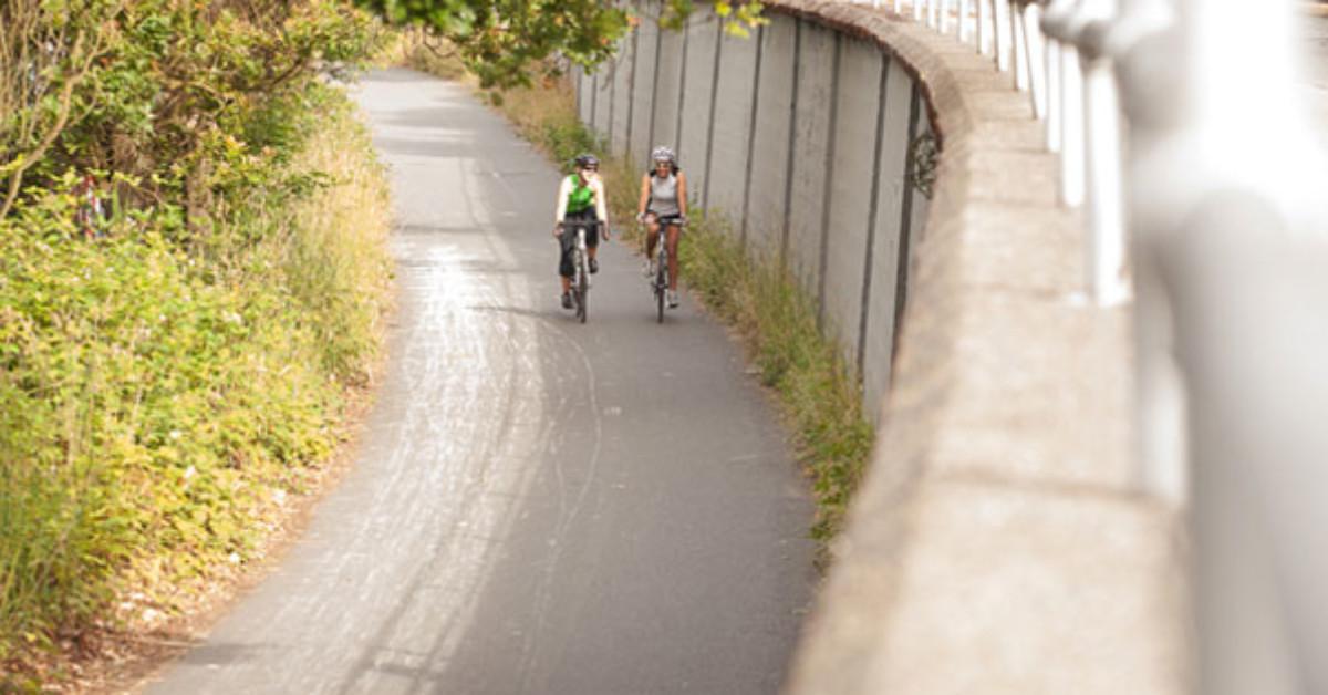 Biking the Burke