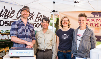 Behind the Farmers Market: Oregon's Prairie Creek Farm and Carman Ranch