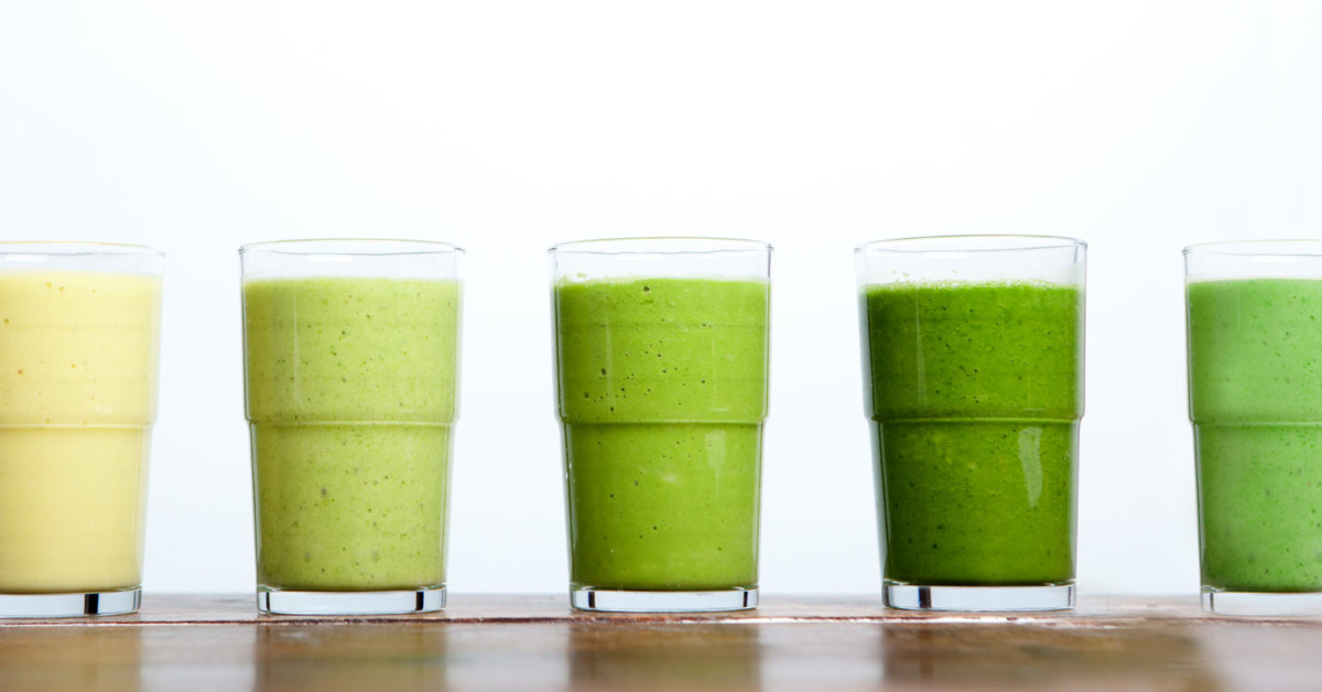 green smoothie header